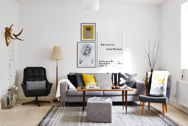 Scandinavian Design | Living Room - pathofcharacter.com